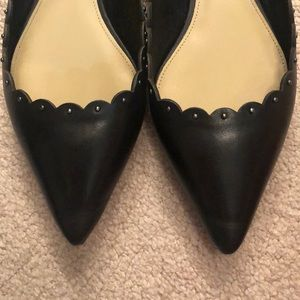 Coach Shoes - Coach Jill Soft Shine Calf Leather Black Flats 10